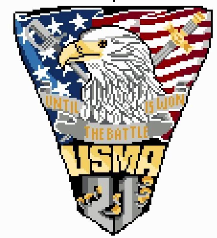 West Point Class of 2021 Crest Cross Stitch Kit