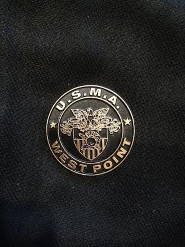 West Point Crest Circle Magnet