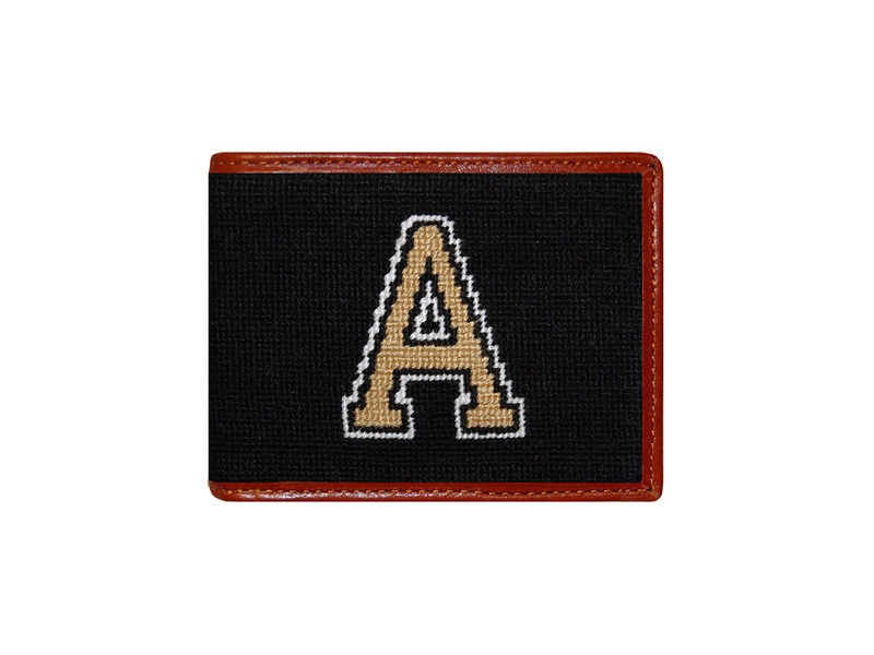 Smathers and Branson West Point Bi-Fold Needlepoint Wallet