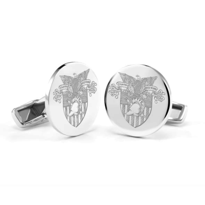 West Point Sterling Silver Cufflinks (Special Order)