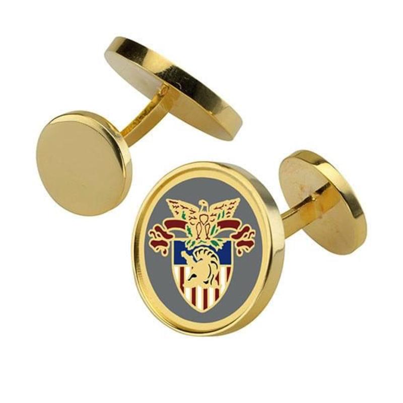 West Point Enamel Cufflinks (Special Order)