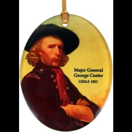 Museum Masterworks George Custer Glass Ornament