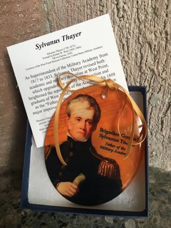 Museum Masterworks Sylvanus Thayer Glass Ornament