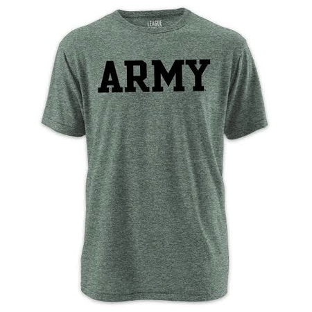 """League """"Army"""" Twisted Triblend Tee"""