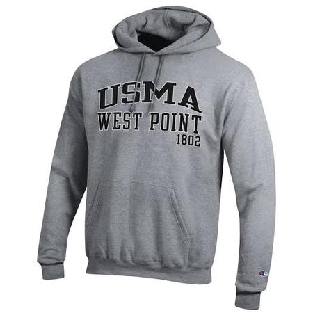 Champion Fleece USMA Hooded Sweatshirt