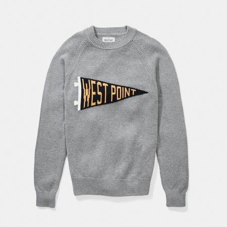 Hillflint Pennant Crewneck Sweater (Hillflint)