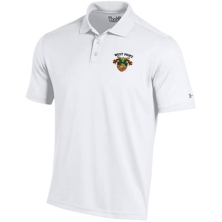 Under Armour West Point Men's Polo with  Crest