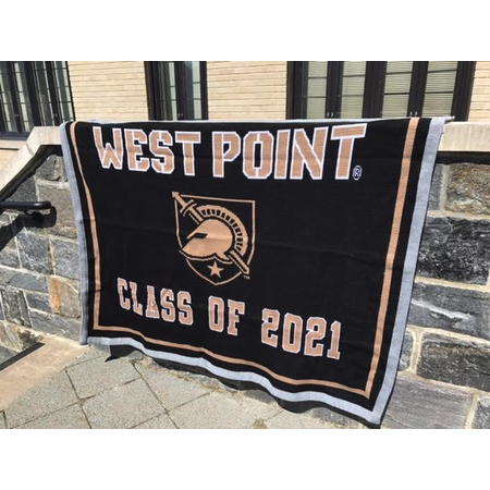 West Point Class of 2021 Knit Blanket