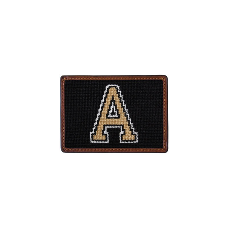 Smathers and Branson West Point Credit Card Needlepoint Wallet