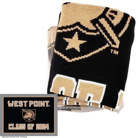"""West Point Class of 2024 Knit Blanket (63"""" x 53"""")"""