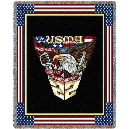 West Point Class of 2022 Crest Throw Blanket (52 x 74 inches)