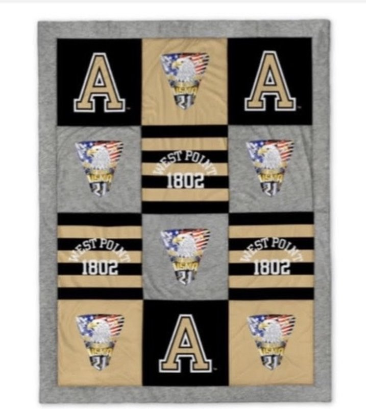 West Point Class of 2021 Spirit Blanket