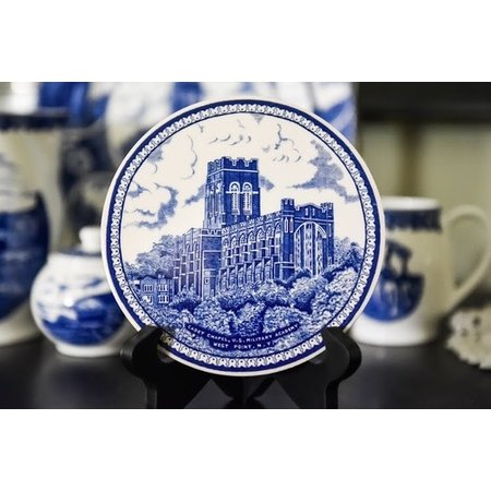 West Point China Trivet, Blue