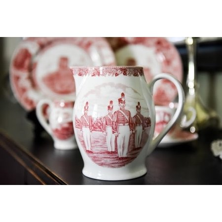 West Point China Liverpool Jug, Rose