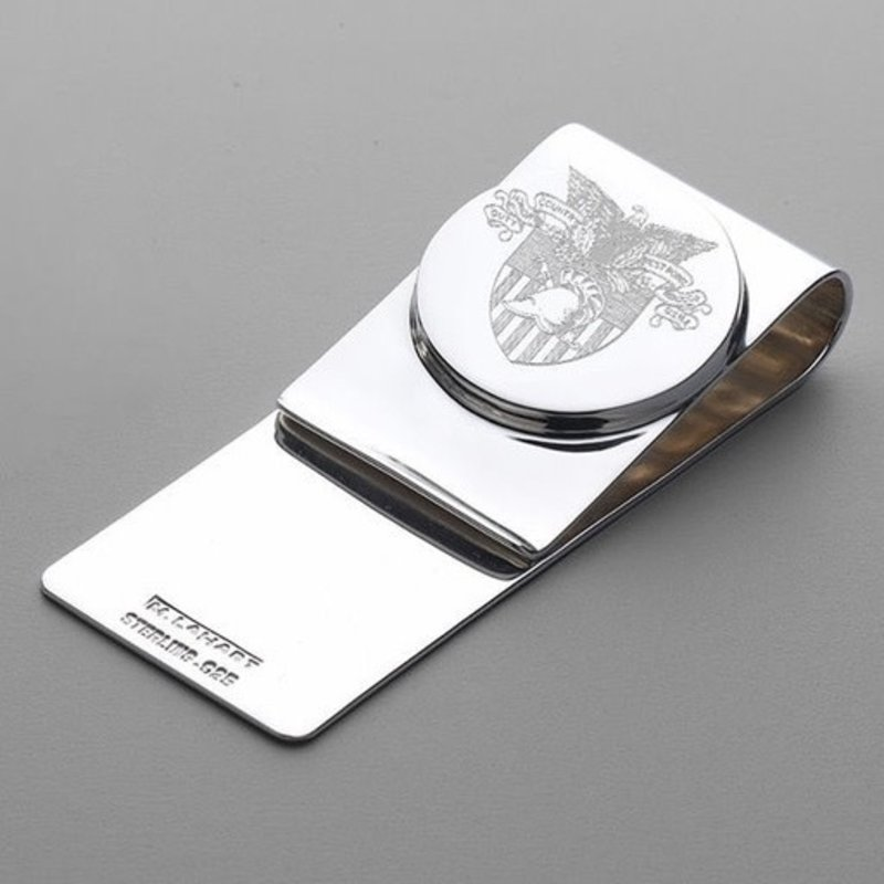 West Point Sterling Silver Money Clip (Special Order)