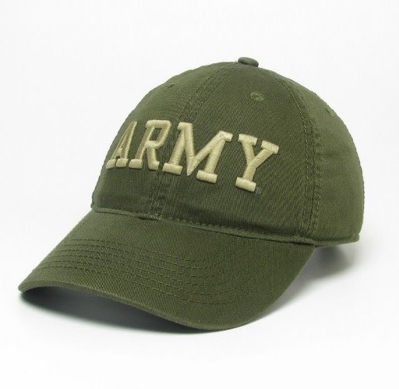 """Army"" Green Twill Baseball Cap"