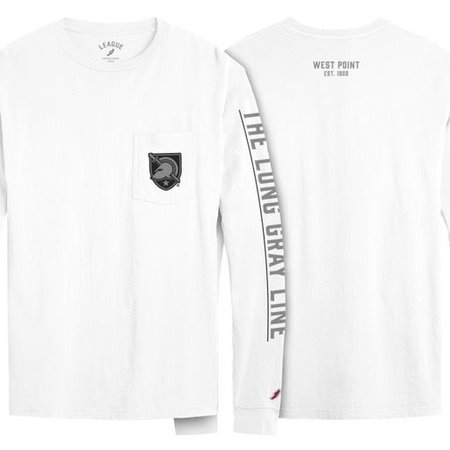 League Vintage Wash Long Sleeve Tee Shirt, The Long Gray Line
