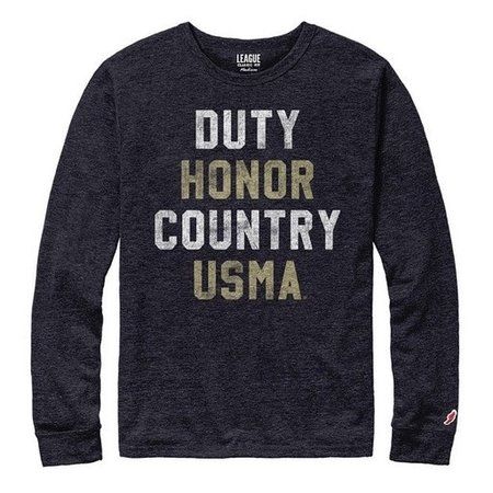 Victory Falls Tee, Duty, Honor, Country, L/S Tee