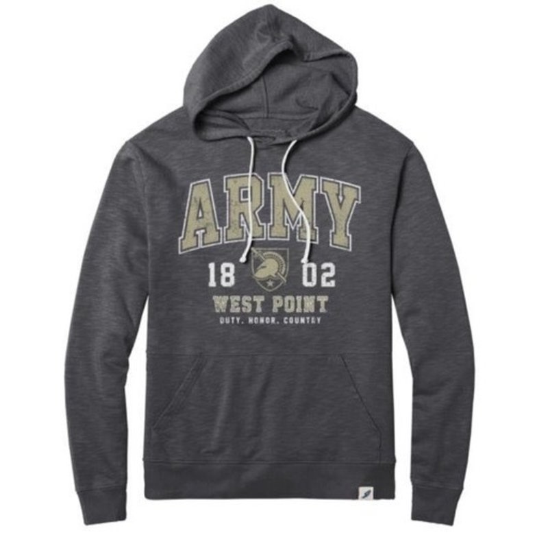 League Weathered Terry Hoody (Army/1802/West Point)