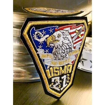 USMA Class of 2021 Bullion Patch (Special Order)