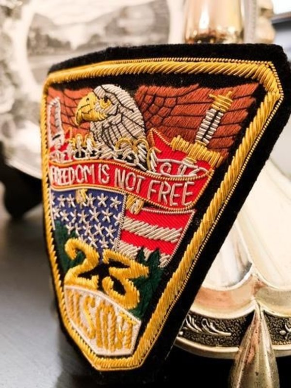 USMA Class of 2023 Bullion Patch (Special Order)