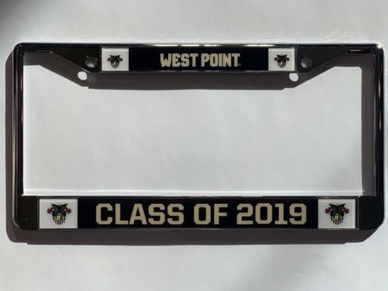 Class of 2019 Glossy License Plate Frame