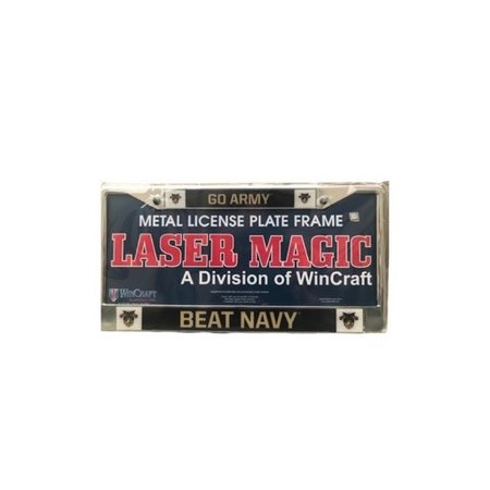 """Go Army Beat Navy"" License Plate Frame"