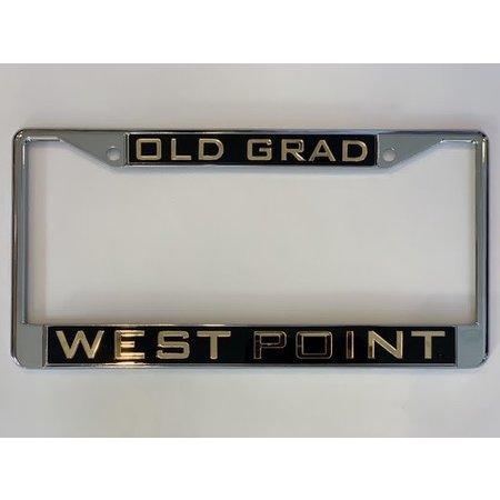 """Old Grad"" West Point License Plate Frame"