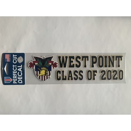 West Point Class of 2020 Decal with Crest, (3 x 10)