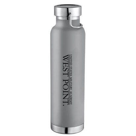 West Point Insulated Water Bottle, Gray