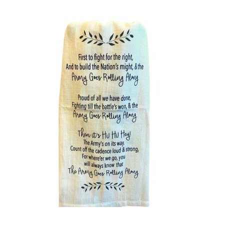 """Army Song"" Tea Towel"
