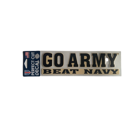 Go Army Beat Navy Decal, 3 x 10 inches