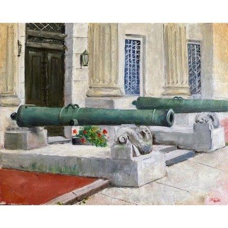 Guns of Cullum Hall Print