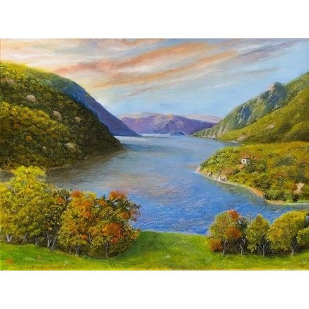 The Hudson From West Point Print