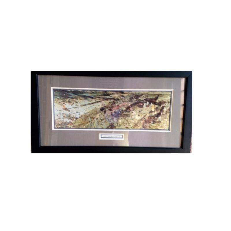 D-Day, Omaha Beach Framed Print