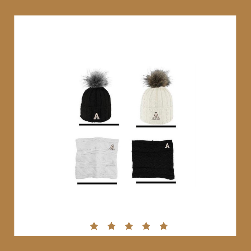 Logo Fit West Point Alps Pom Hat with Faux Fur