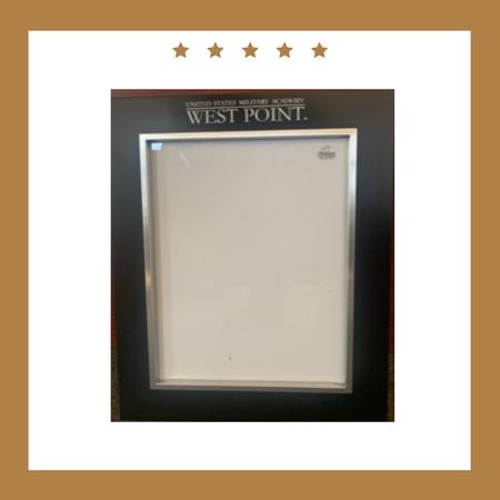 """West Point Ebony Frame for 8"""" x 10"""" Photo"""
