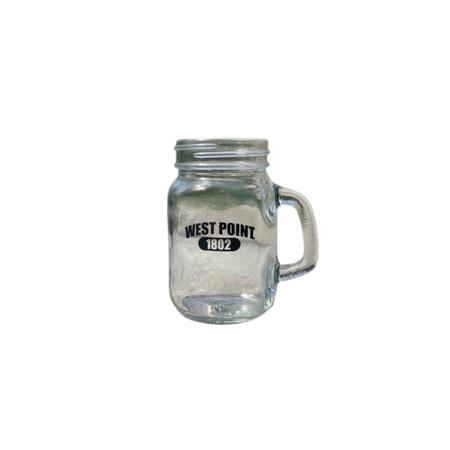 West Point Mini Mason Glass Jar (3.5 ounce)