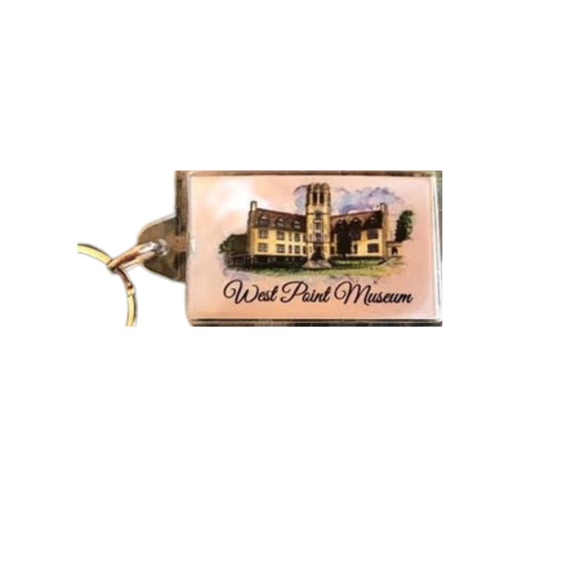 West Point Museum Rectangular Key Chain