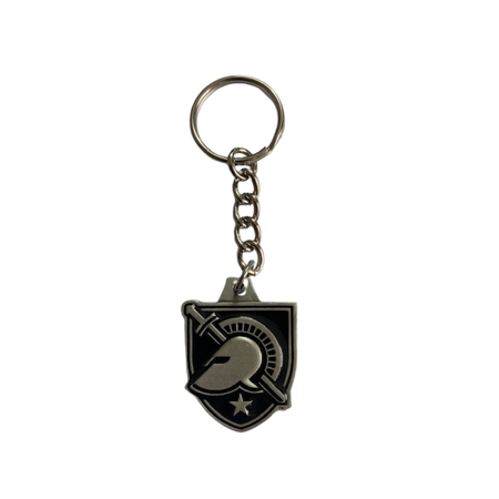 West Point Shield Pewter Keychain