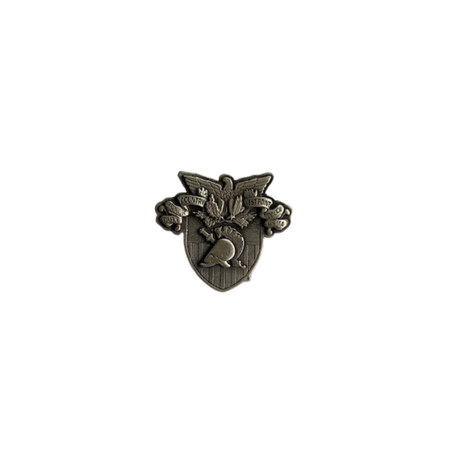 USMA Crest Lapel Pin (Pewter)