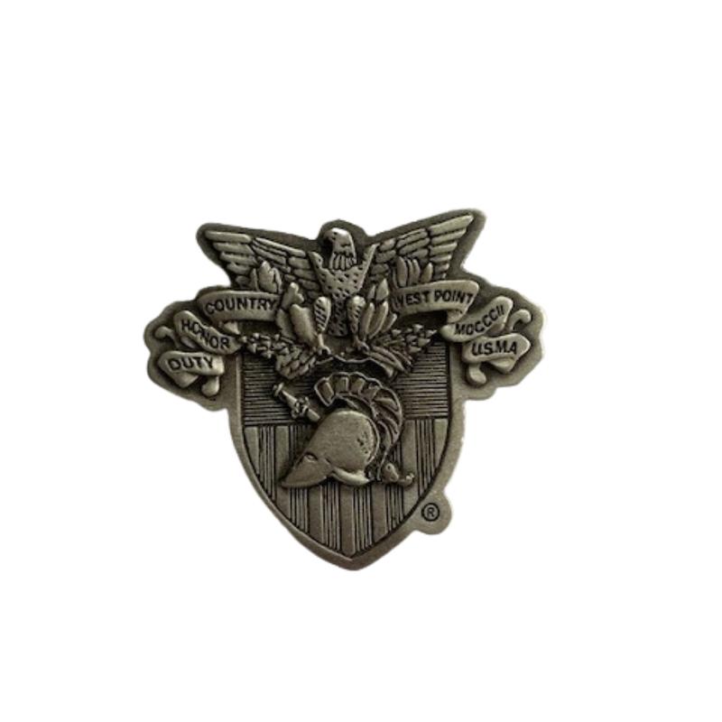 Pewter USMA Crest Magnet