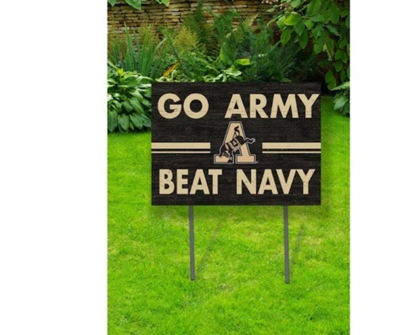 Lawn Sign: Go Army, Beat Navy
