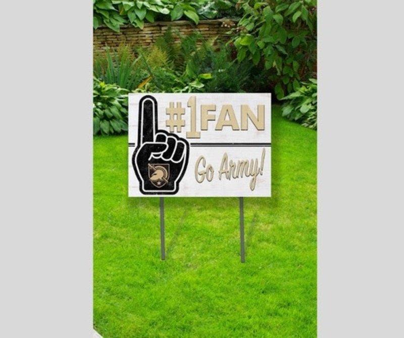 Lawn Sign: #1 Fan/GO ARMY