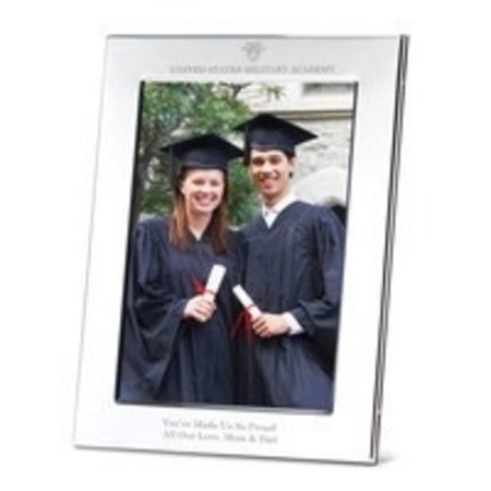 """West Point Polished Pewter Picture Frame, 5"""" x 7"""""""