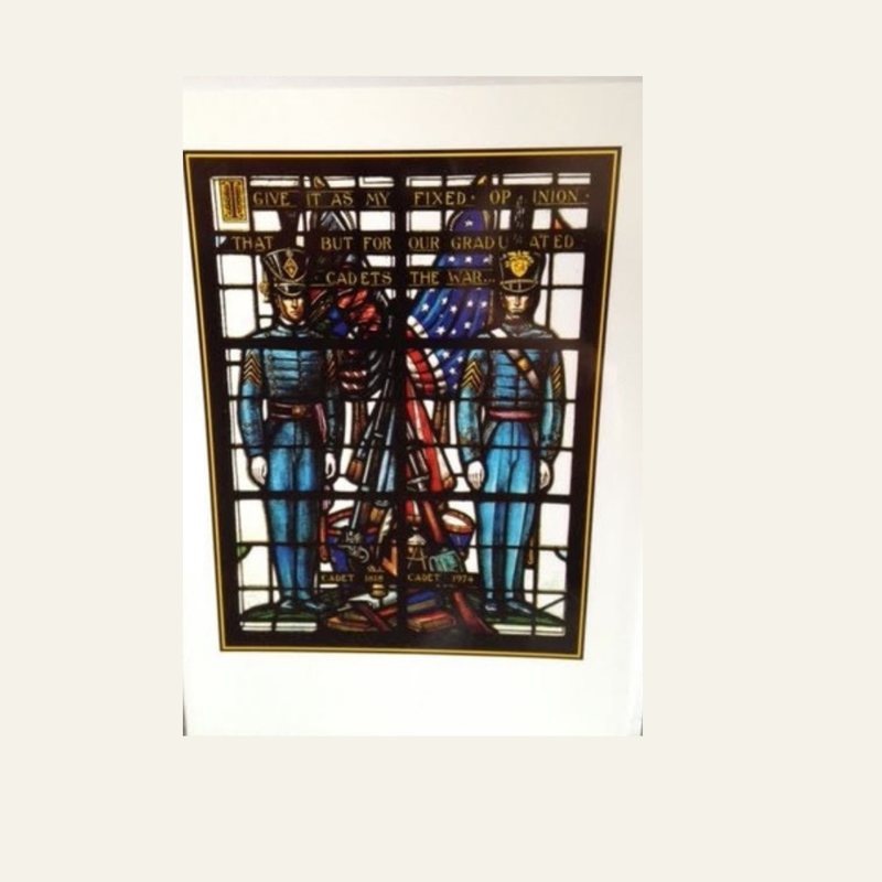 Cadets/Stained Glass Window Notecard Set (8 per Box)