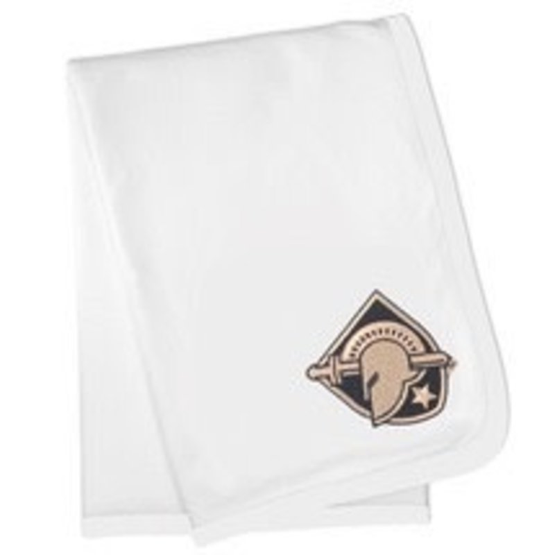 Future Tailgaters Army Black Knights Baby Receiving Blanket