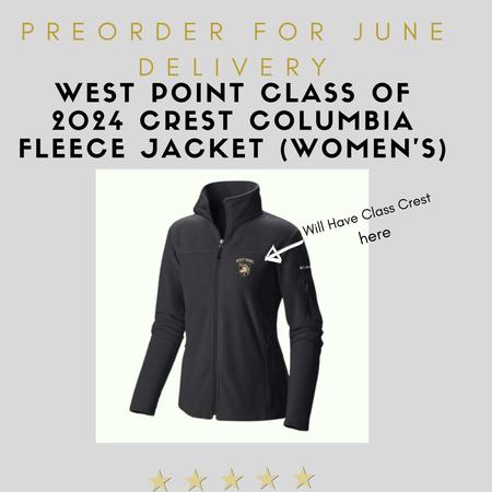 Columbia West Point Class of 2024 Crest Columbia Fleece Jacket (Women's/Preorder)