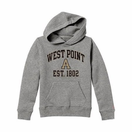 League Youth Hooded West Point/Block A/ Sweatshirt