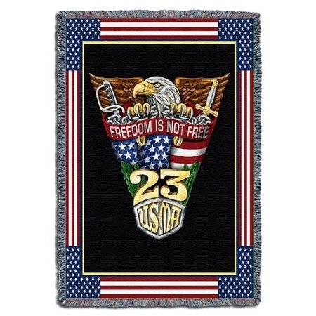 West Point Class of 2023 Crest Throw (52 x 74 inches)